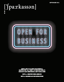 Ausgabe #4/2016 • Open for Business
